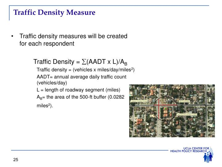 Traffic Density Measure