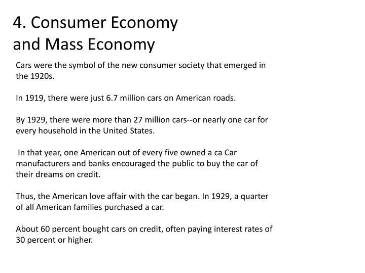 4. Consumer Economy