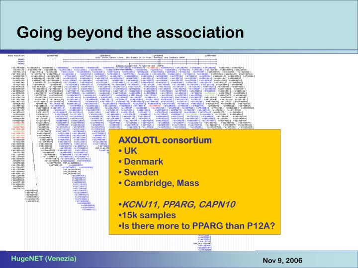 AXOLOTL consortium
