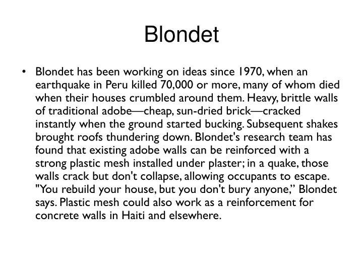 Blondet