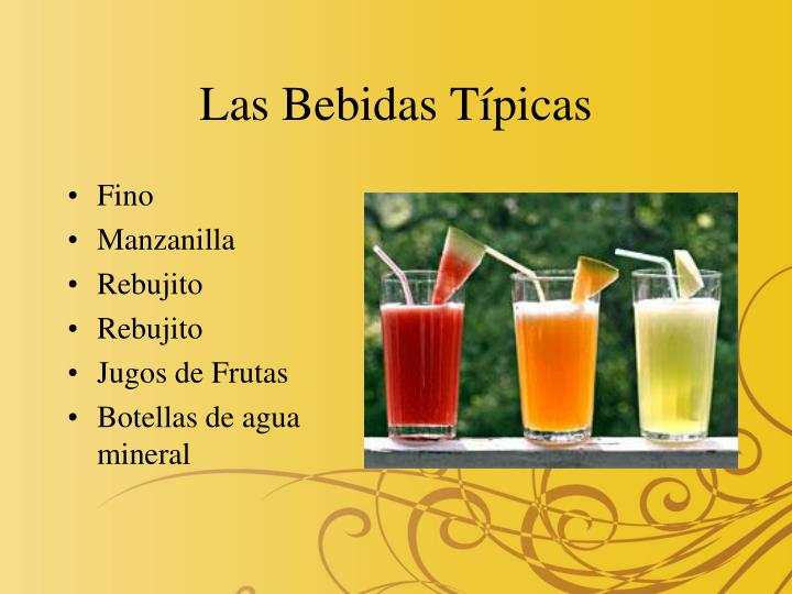 Las Bebidas Típicas