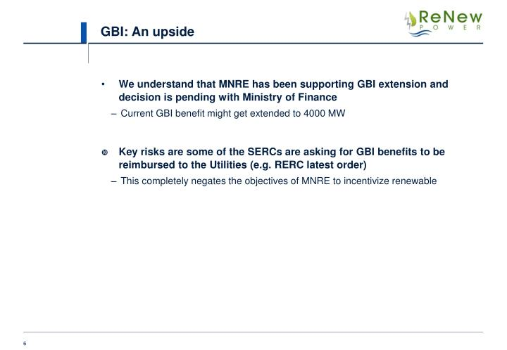 GBI: An upside