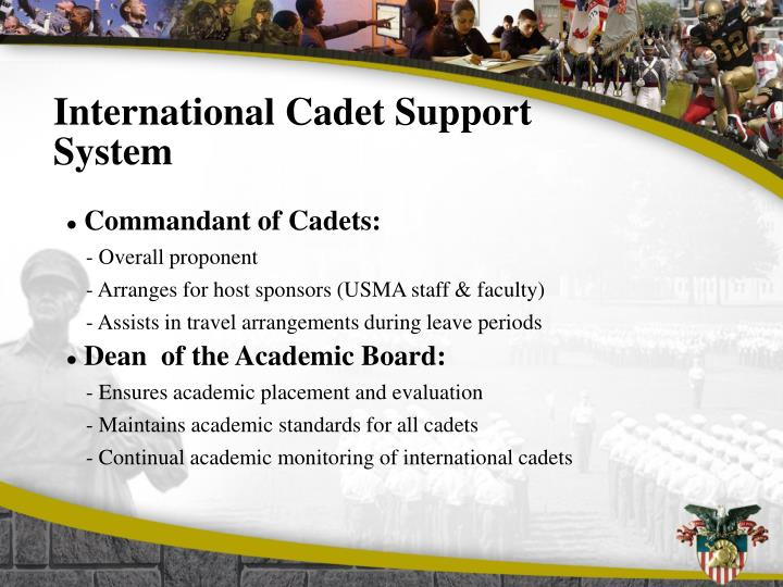 International Cadet Support System