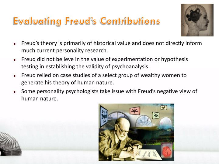 Evaluating Freud's Contributions