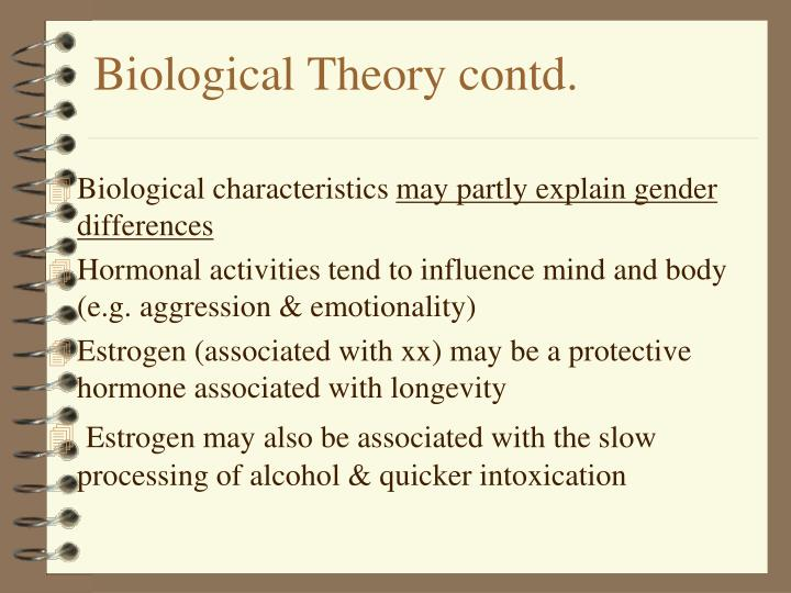 Biological Theory contd.