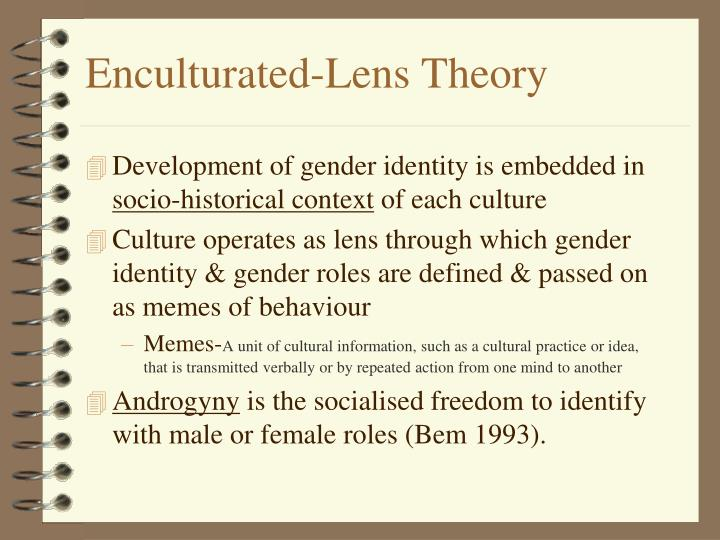 Enculturated-Lens Theory