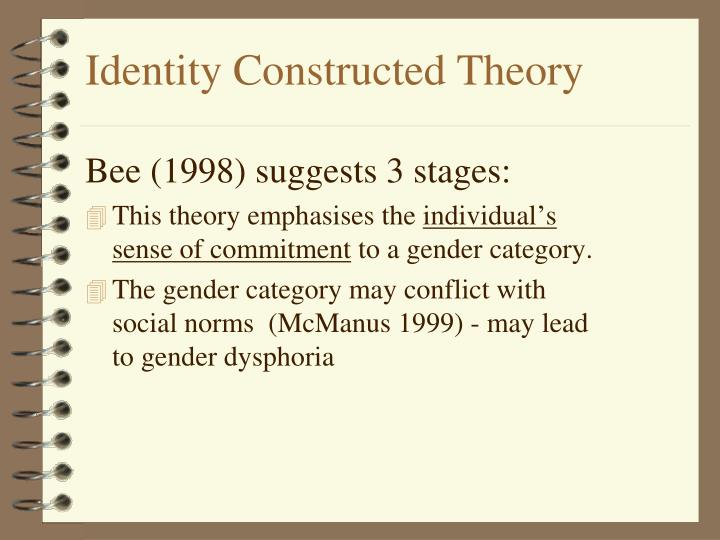 Identity Constructed Theory