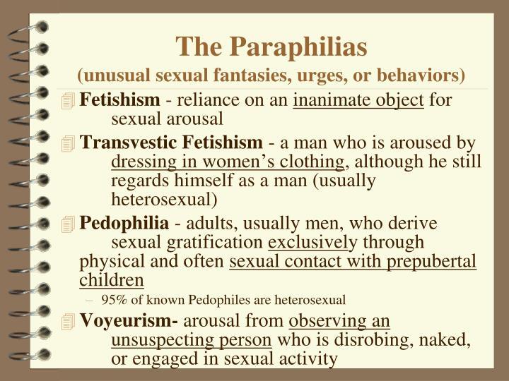 The Paraphilias
