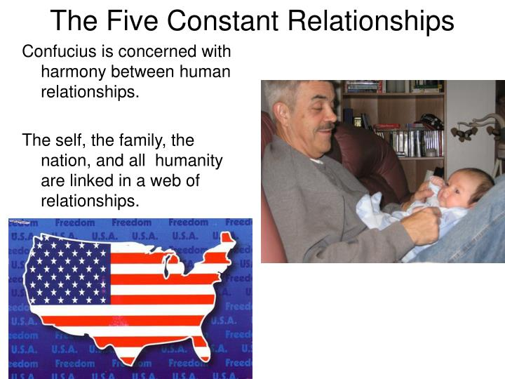 The Five Constant Relationships