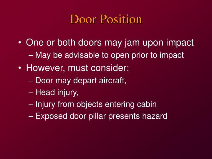 Door Position
