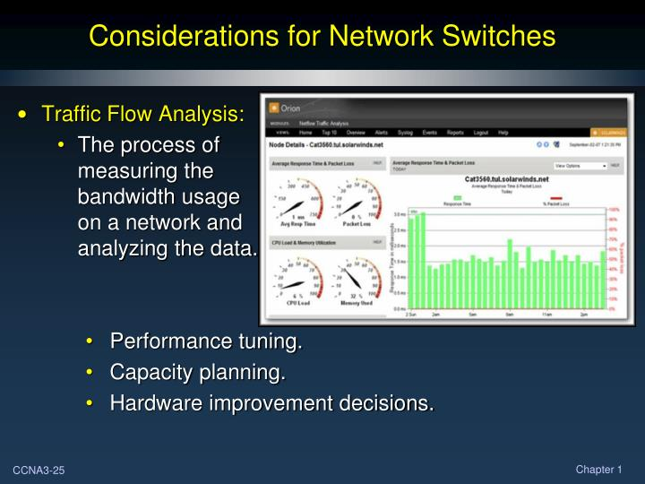 Considerations for Network Switches