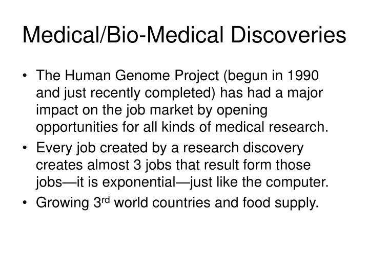 Medical/Bio-Medical Discoveries