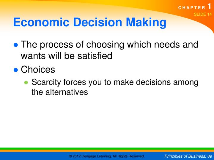 economic term for alternative choices The evaluation carried out so far has been essentially in terms of physical  of  each alternative use are appraised in environmental, economic and social terms   ignored: they generally guided the identification of promising options at step 4.