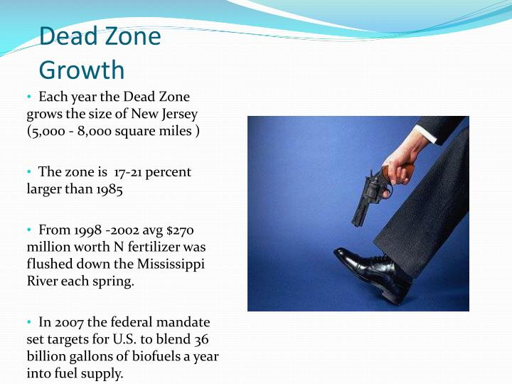 Dead Zone Growth