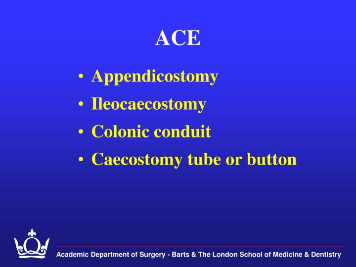 Academic Department of Surgery - Barts & The London School of Medicine & Dentistry