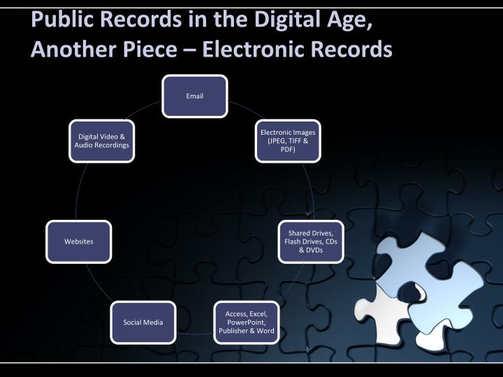 Public Records in the Digital Age,