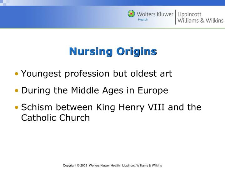 Nursing Origins