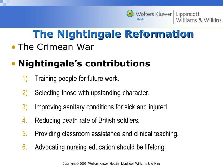 The Nightingale Reformation