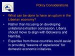 policy considerations4
