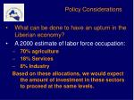 policy considerations6