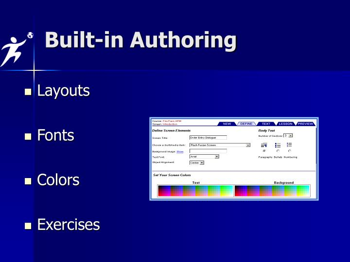 Built-in Authoring