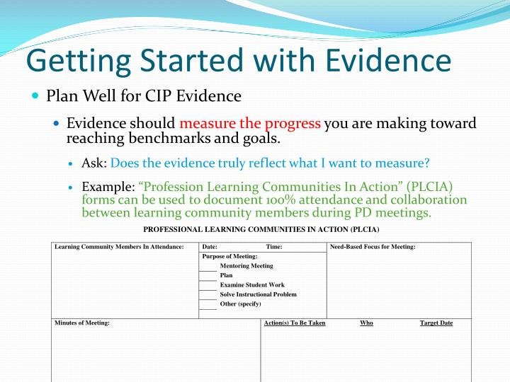Getting Started with Evidence