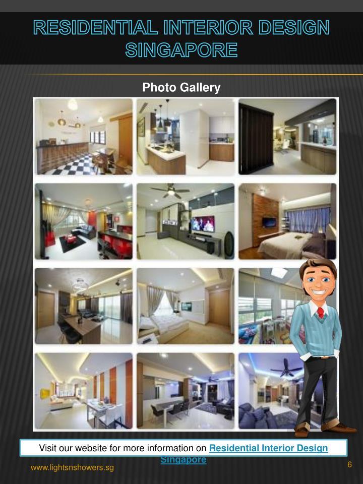 Residential Interior Design Singapore