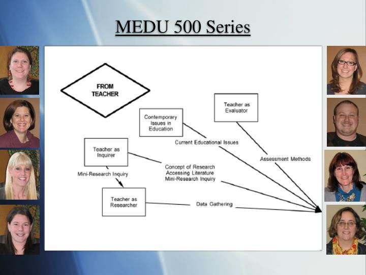MEDU 500 Series