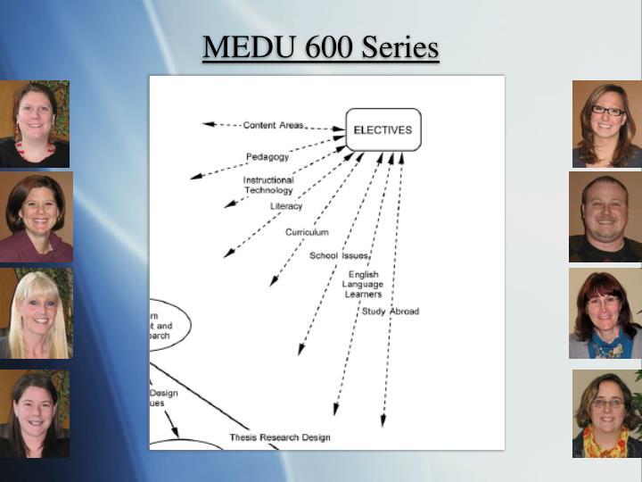 MEDU 600 Series