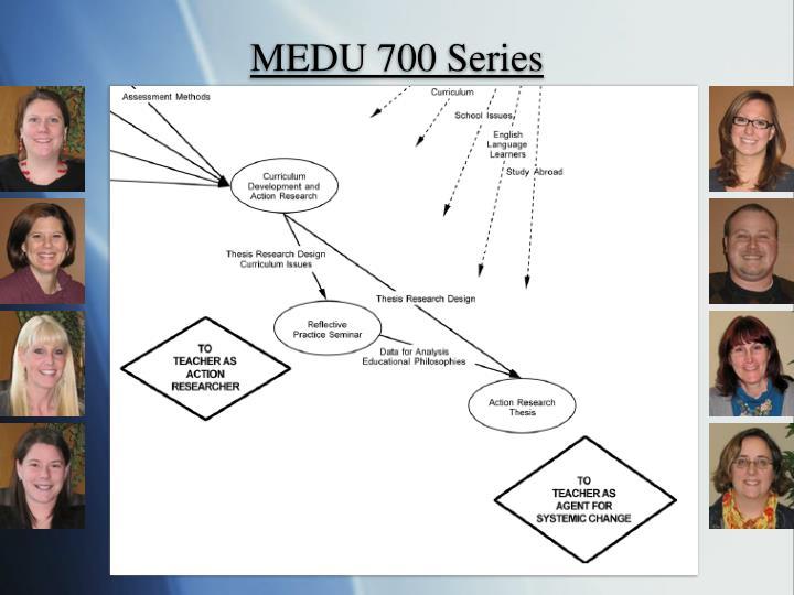 MEDU 700 Series