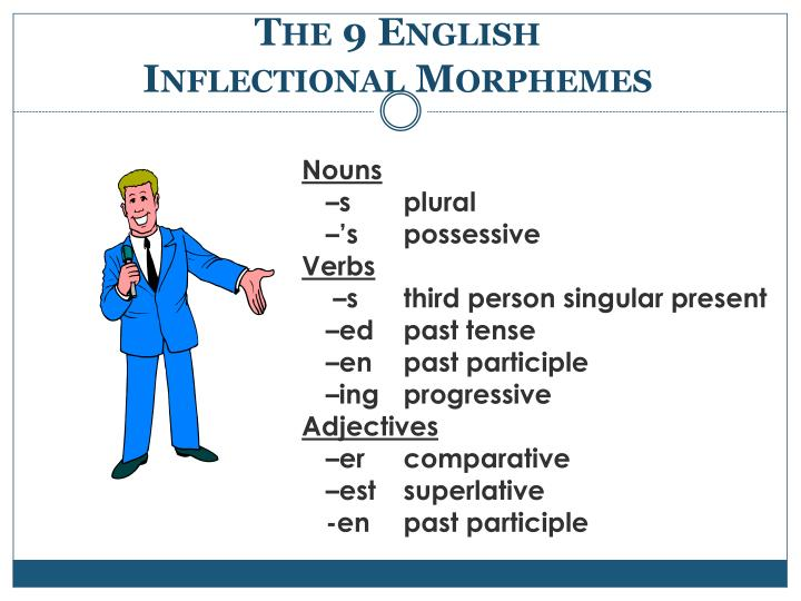 The 9 English