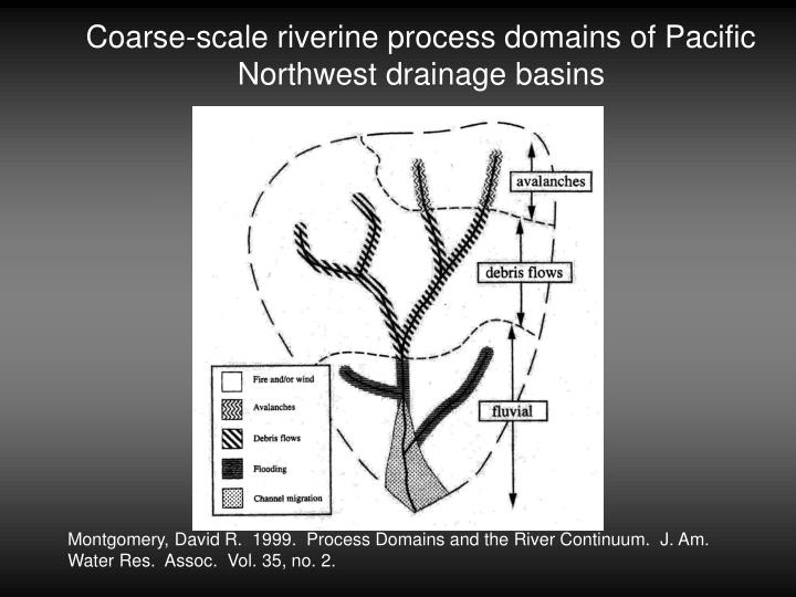 Coarse-scale riverine process domains of Pacific Northwest drainage basins