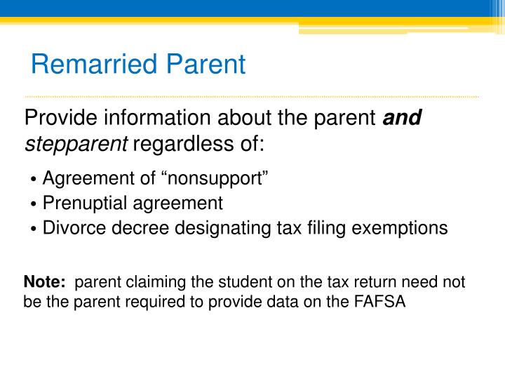 Remarried Parent