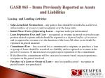 gasb 65 items previously reported as assets and liabilities3