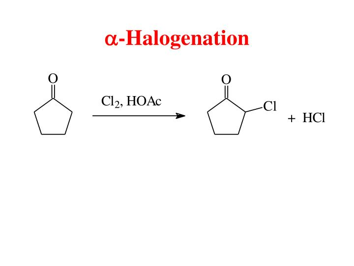 A halogenation