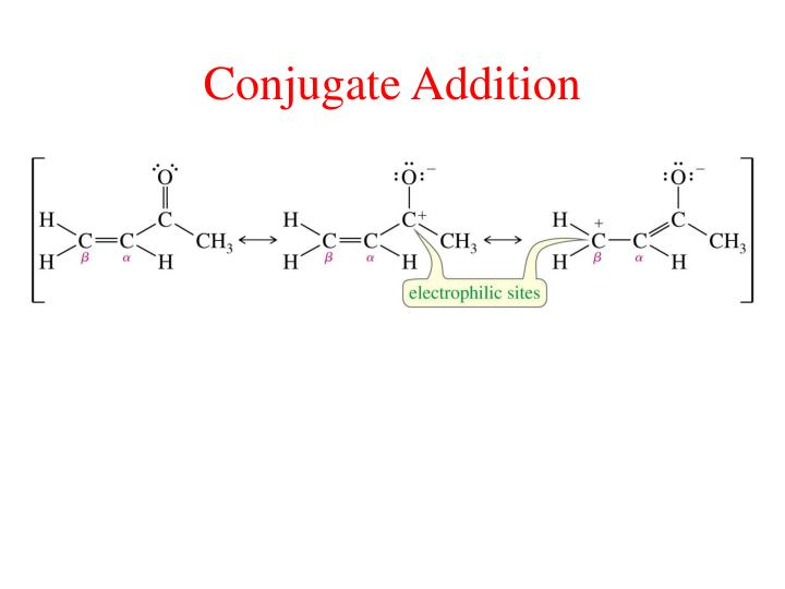 Conjugate Addition