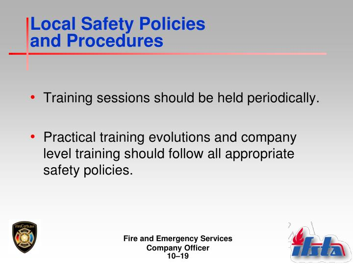 Local Safety Policies