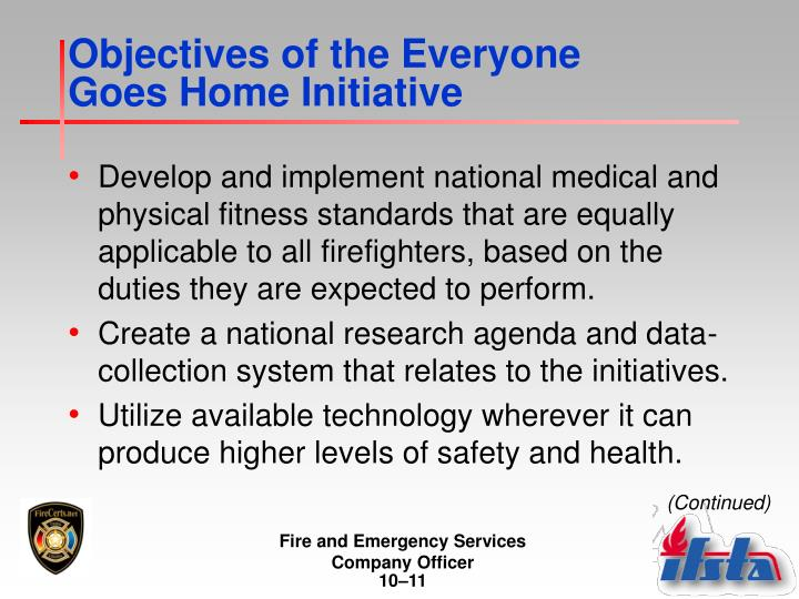 Objectives of the Everyone