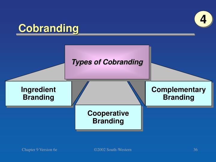 Types of Cobranding