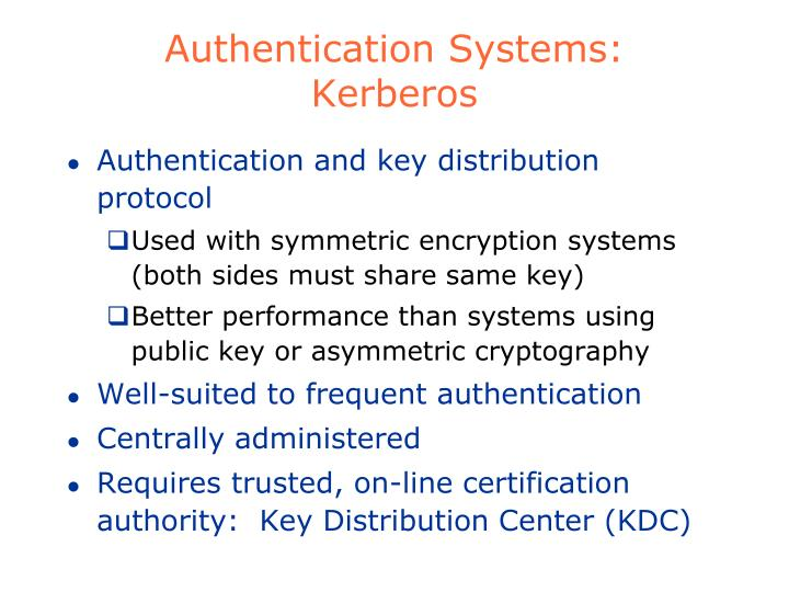 Authentication Systems: