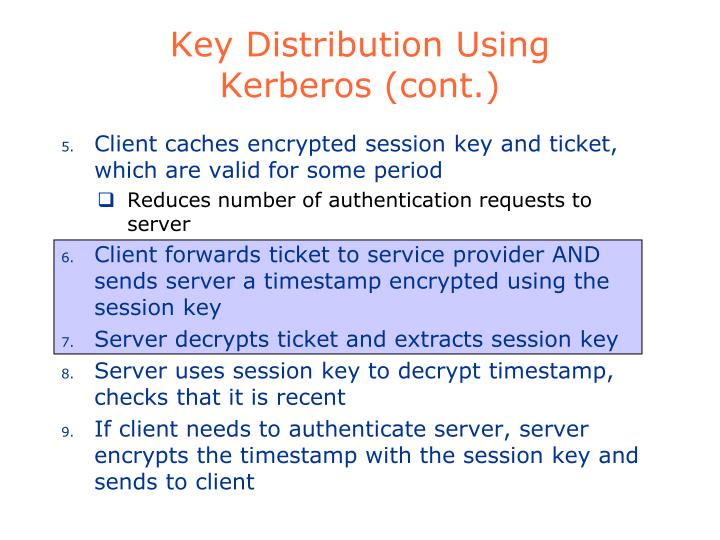 Key Distribution Using