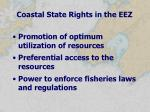 coastal state rights in the eez