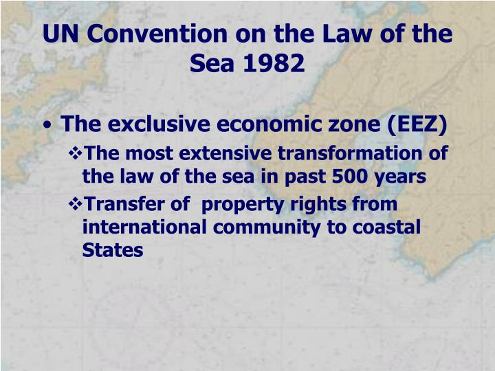 UN Convention on the Law of the Sea 1982
