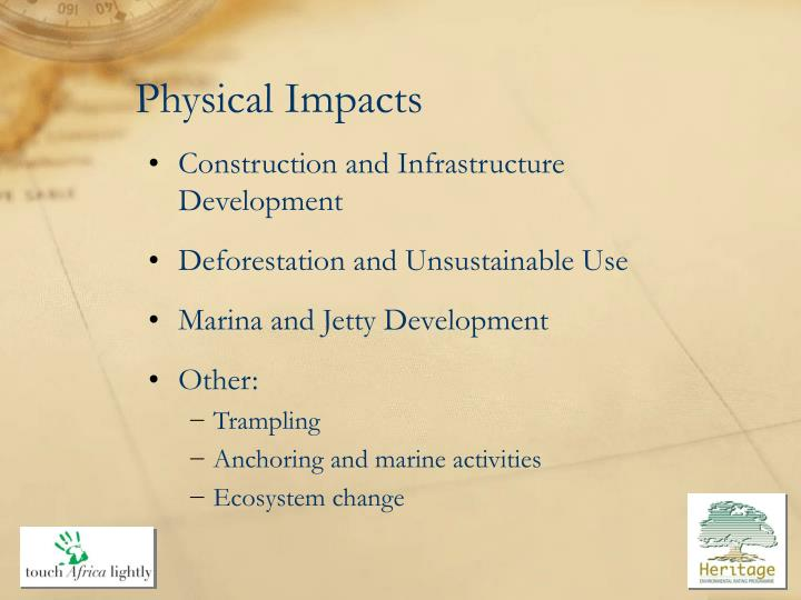 Physical Impacts