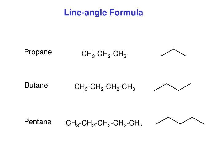Line-angle Formula