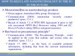 how to regulate nanotechnology in the eu in the future2