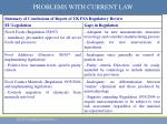 problems with current law