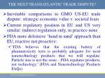 the next transatlantic trade dispute