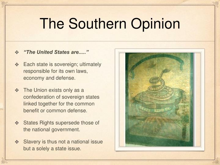 The Southern Opinion