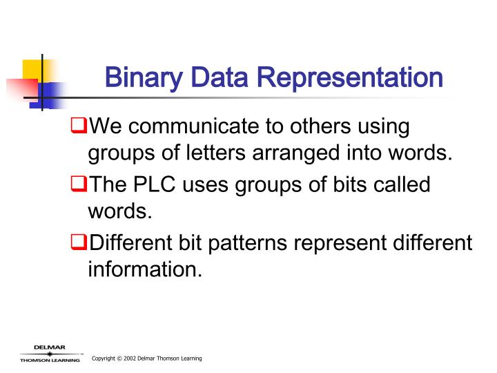 Binary Data Representation